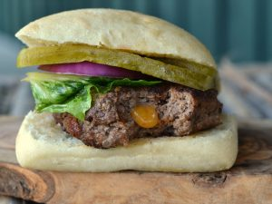 Cheese FIlled Burger