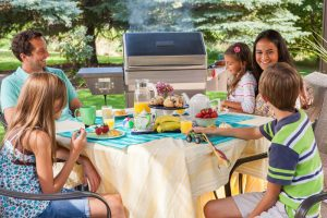 Outdoor Kitchen Perfect For Family