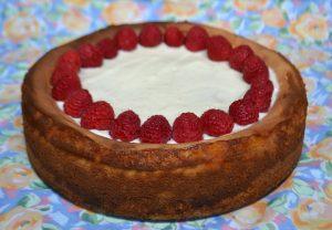 lemon cheesecake Baked On Pellet Grill