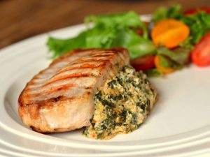 Grilled Pork Loin Chops On Memphis Grill