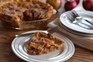 Apple Pie Made With Pellet Grill