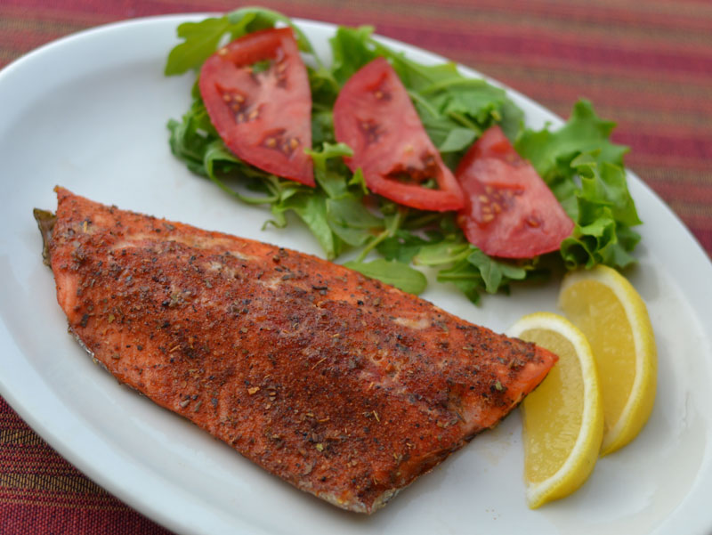 Grilling Smoked Trout With Pellet Grill