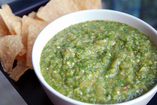 Grilling Tomatillo Dip