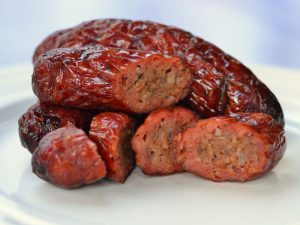 Smoked Sausage on a Pellet Grill
