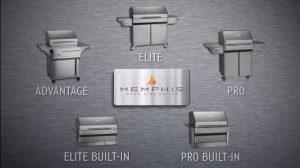 Memphis Pellet Grill Lineup