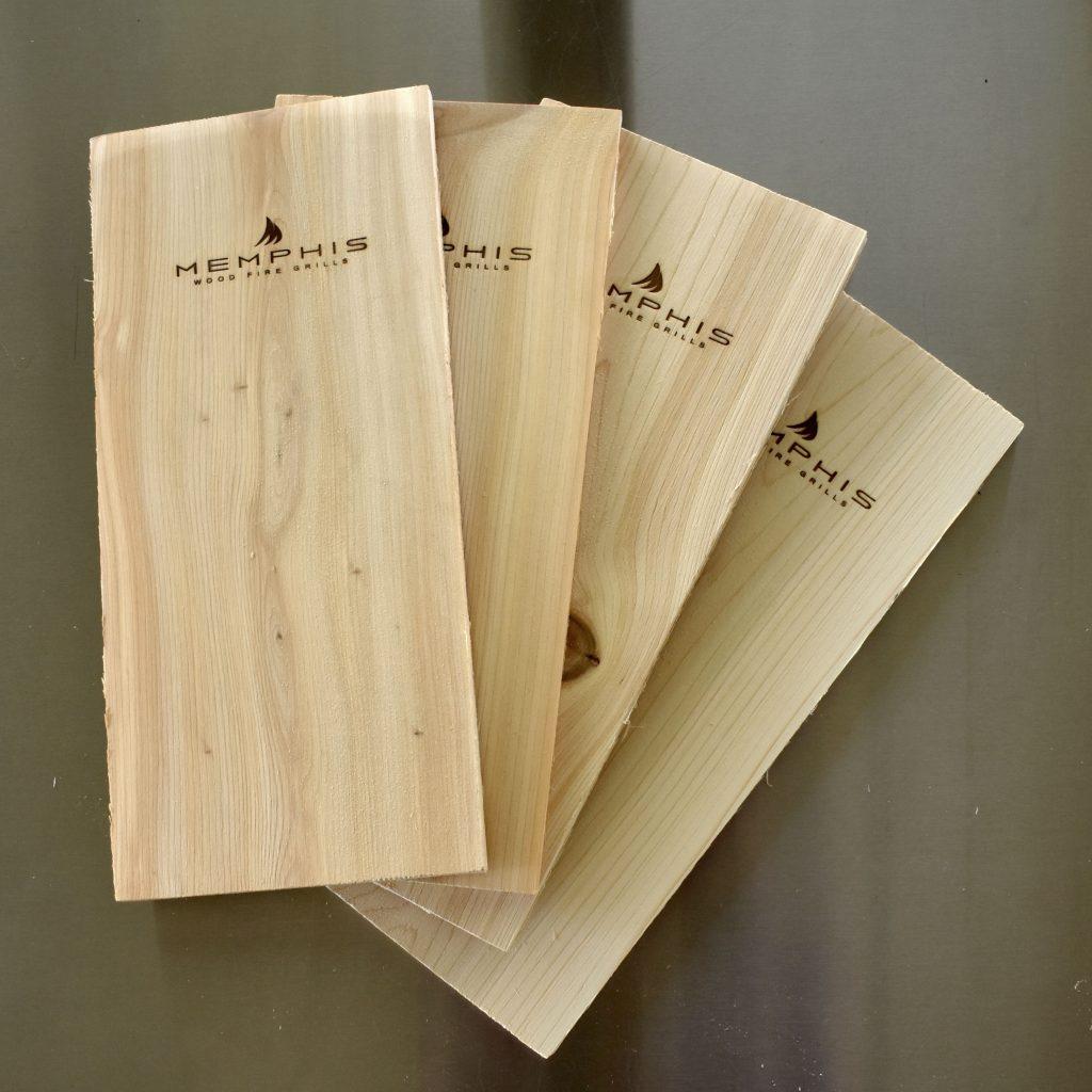 Memphis Grills Cedar Planks