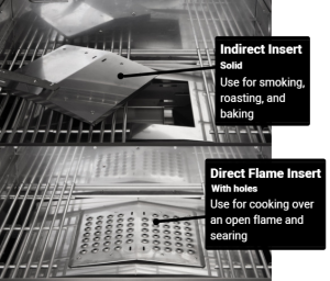 Direct Flame Capability, Memphis Grills